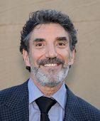 LOS ANGELES - AUG 04:  Chuck Lorre arrives to CBS Showtime CW All Star Winter TCA Party 2013  on Jul