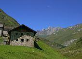 Alp In Austrian Dolomites
