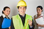 Personas del equipo de trabajadores