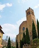 The Basilica Of San Domenico. Siena, Italy
