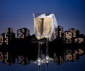 Metropolis Champagne Cocktail Lesbian