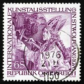 Postage Stamp Austria 1976 St. Wolfgang