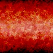 Abstract Red black triangle background