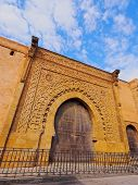 Gate In Rabat, Morocco, Africa