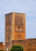 Hassan Tower In Rabat, Morocco