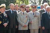 Parade Commander. Russian Veteran's Parade