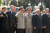 Parade Commander At Russian Veteran's Parade May 9, 2009