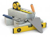 pic of trowel  - Construction concept - JPG