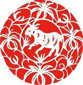 Постер, плакат: Китайский Зодиак овец