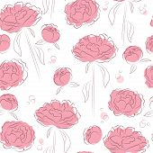 Elegance flowers background