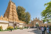 Temple In Mysore Palace Complex