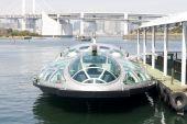 Futuristische veerboot In Tokio