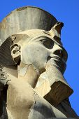 stock photo of ramses  - Ramses is the most well known pharaoh in Egypt - JPG