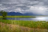 Stormy weather Nine pipe wild life refuge in Montana