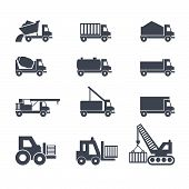 Transport and construction vehicles