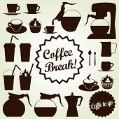 Coffee Icons Collection - Vector EPS10