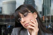 Pensive Business Woman.