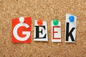 The word Geek