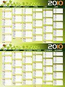2010 green planning calendar