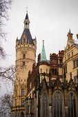Schwerin Castle in Northern germany