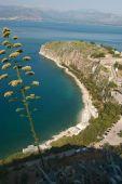 Arvanitia beach near Nafplion Greece