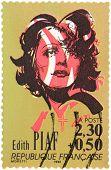 Edith Piaf Stamp