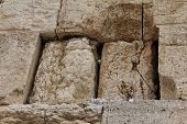 Mail Box Of God In Western Wall