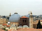 Dome of  Temple of the  Holy Sepulchre