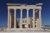 Erechtheion temple Acropolis of Athens Greece