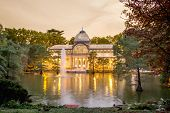 Crystal palace in Buen Retiro park, Madrid