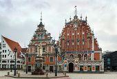 The Building Of The Brotherhood Of Blackheads, Riga