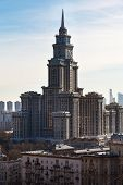 Triumph-palace Apartment Building In Moscow