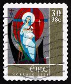 Postage Stamp Ireland 2001 Madonna And Child, Christmas