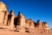 Solomon Pillars in Timna National Park in Israel