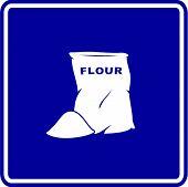 flour bag sign