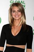 LOS ANGELES - FEB 26:  Eliza Coupe at the Global Green USA Pre-Oscar Event at Avalon Hollywood on Fe