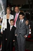 LOS ANGELES - FEB 24:  Joel Silver, Family at the