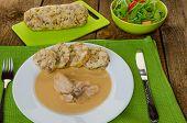 Chicken In Cream Sauce With Dumplings