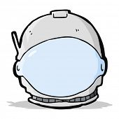 cartoon astronaut face