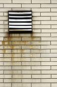Rusty ventilation grid