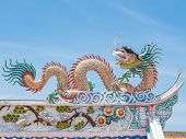 Chinese Dargon On Roof Top