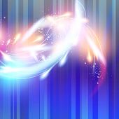 Background air abstract vector flashes