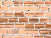 Construct Red Brick Wall
