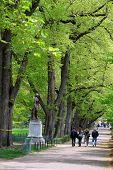 Boston Common And Public Garden, Usa..