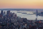 pic of west village  - Aerial view of Lower Manhattan  - JPG