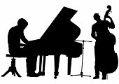 Pianista y bajo