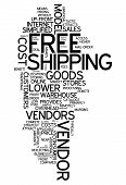 Word Cloud Free Shipping