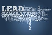 Word Cloud Lead Generation