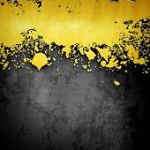 splash on metal background