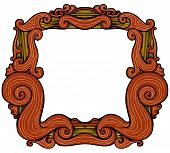 Ornate Retro Frame